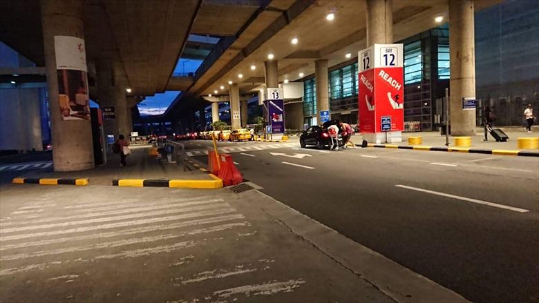 マニラのP2Pバス乗り場が変更(1)