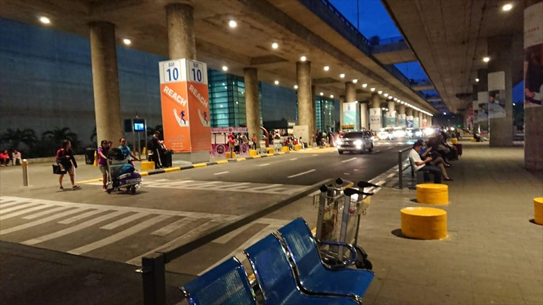 マニラのP2Pバス乗り場が変更(3)