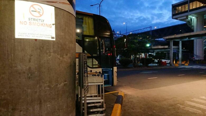 マニラのP2Pバス乗り場が変更(5)