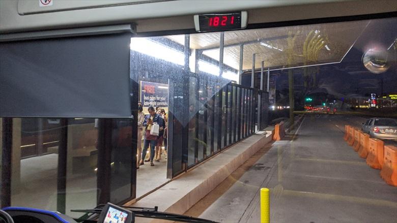クラーク国際空港からクラークループバスに乗る(4)