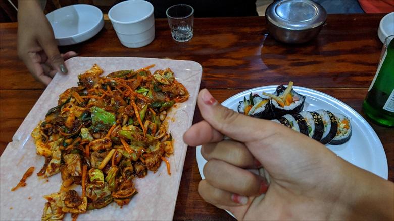 アンヘレス 2020年2月の旅で食べた食事(8)